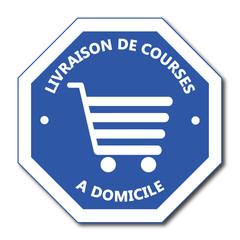Logo livraison de courses à domicile.