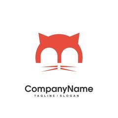 pet shop logo icon Vector