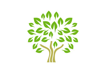 Tree Logo Vector Design