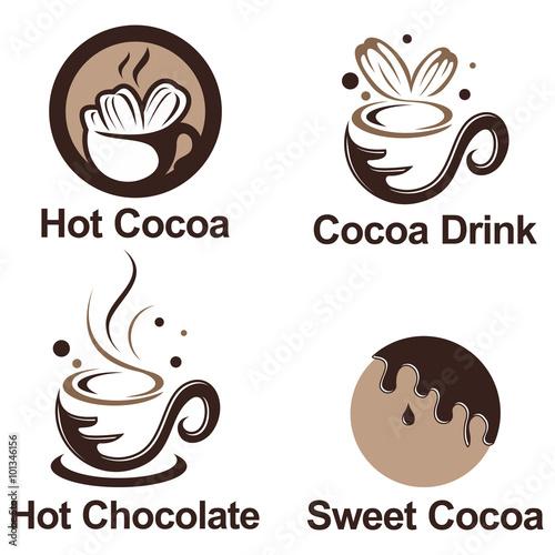 Chocolate logo vector