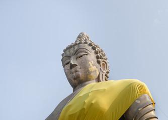 Stone Buddha image.