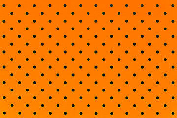 wallpaper pattern black dots in orange color background