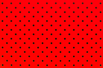 wallpaper pattern black dots in red color background