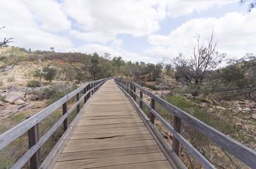 Swan river walkway