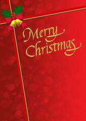 メリークリスマス 赤いリボン