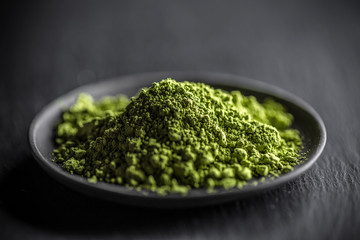 Macha green powder