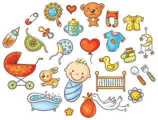 Cartoon Baby Set