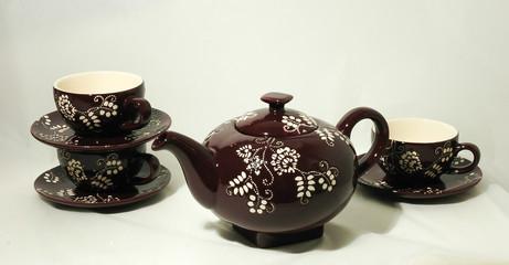 Complementos del té: juegos de té, kit, taza, tetera, envase, lata, accesorio