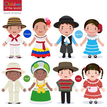 Children of the world-Colombia-Argentina-Brazil-Chile