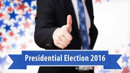 Thumb up for US presidential elections 2016