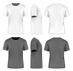 Men short sleeve t-shirt .