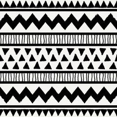 Fototapete - Ethnic Seamless Pattern