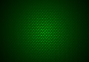 Green Hexagonal Background - Geometric Textured Illustration, Vector