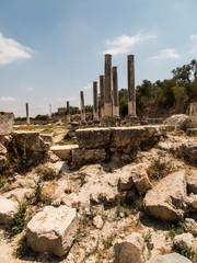 Sebastia, ancient Israel, ruins and excavations