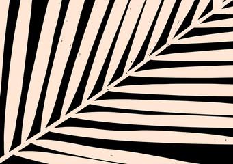 Palm Leaf Poster Design