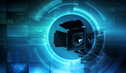 Camera for movie and abstract multimedia