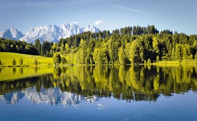 Sommer in Tirol - Schwarzsee Kitzbühel und Wilder Kaiser