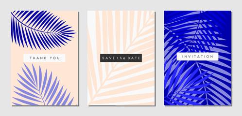 Tropical Foliage Cards Set