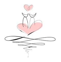 Valentines Kitty Card