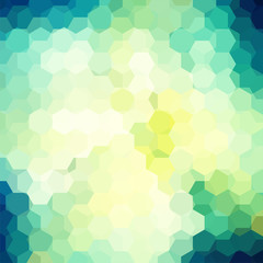 Abstract background consisting of hexagons.