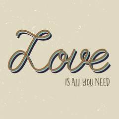 Love is all you need background