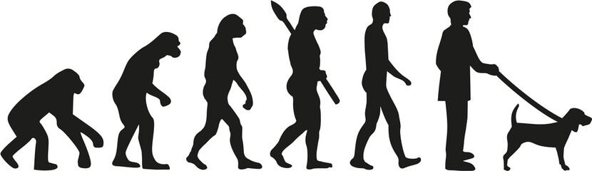 Beagle  dog evolution