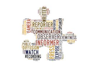 periodista informador tag cloud