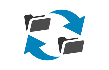 file transfer icon