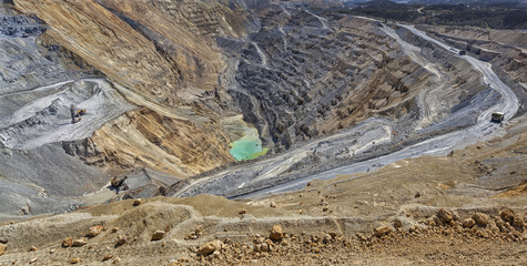 Cooper mine - Open pit 2