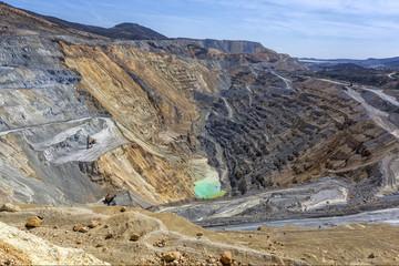 Cooper mine - Open pit 3