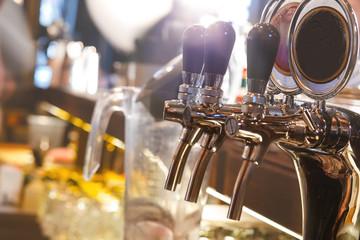 Bartender tools at the bar