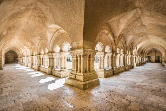 Abbey of Fontenay UNESCO World Heritage Site, Burgundy, France