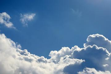 Cloudscape blue sky and copy space