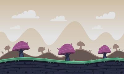 Game Cartoon Background