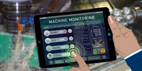 bas8 BuildingAutomationSign - remote monitoring - vertical machining with 4-axis - 2to1 g4196
