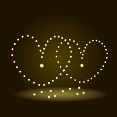 Hearts of lights