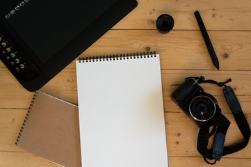 Camera and Graphic Tablet