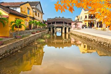 Japanese Bridge in Hoi An. Vietnam