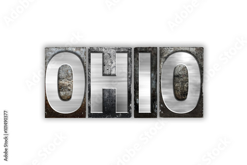 ohio concept isolated metal letterpress type imagens e fotos de stock royalty free no fotolia. Black Bedroom Furniture Sets. Home Design Ideas