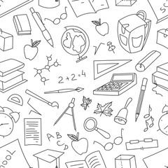 Doodle pattern of learning
