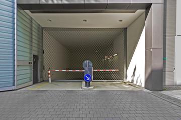 Einfahrt Tiefgarage Parkplatz