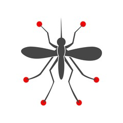 Mosquito simple icon