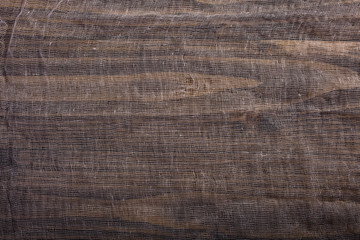 Gauze on wooden board