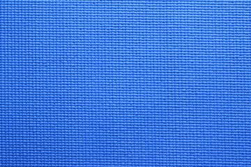 Blue Yoga Mat texture
