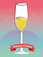 Cocktail bar menu