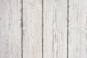 Wood Planks Texture, White Wooden Table Background, Floor Wall