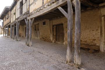 arcades, Calatañazor, Soria province, Casitlla y León, Spain