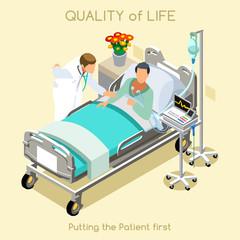 Patient Visit 01 People Isometric