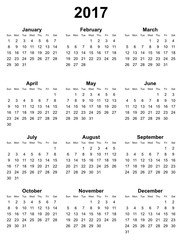CALENDAR YEAR 2017 LEGAL HOLIDAYS AND DATES …