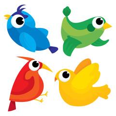 Technicolor Birds